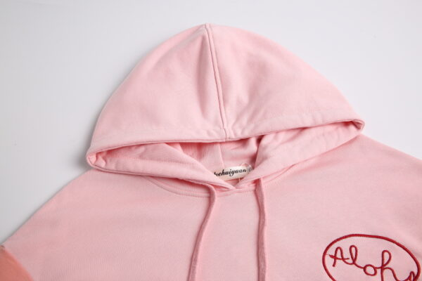 Pink Aloha Hoodie | Do Bong Soon – Strong Woman Do Bong Soon