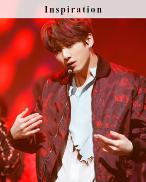Red Bomberjacket | Jungkook – BTS