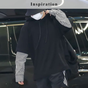 Black Sweater With Blouse Arms | Jungkook – BTS