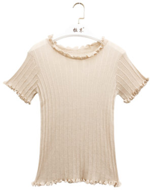 Ruffled T-Shirt | Kim Mi So