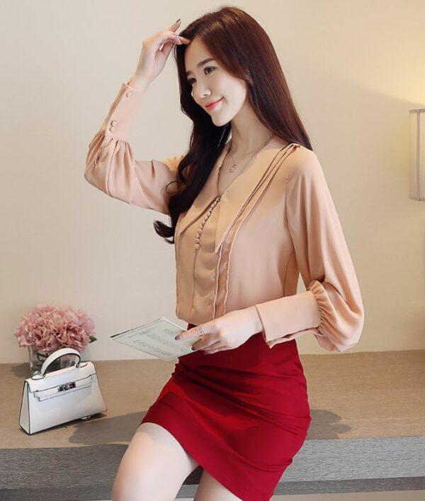 Apricot Blouse | Kim Mi So