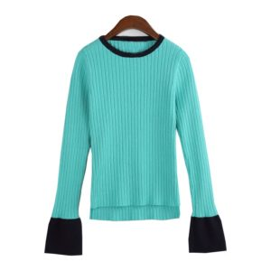 Nam Hong Joo Fashion – Turquoise Sweater