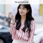 Pink Striped Blouse | Suzy