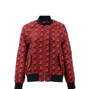 Red Bomberjacket Jungkook Clothing – BTS