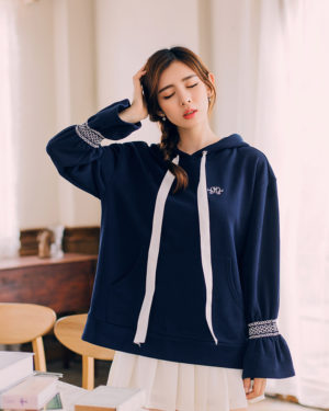 Strong Woman Do Bong Soon clothings Blue Hoodie