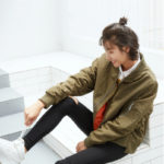 White Bomberjacket | Taehyung – BTS