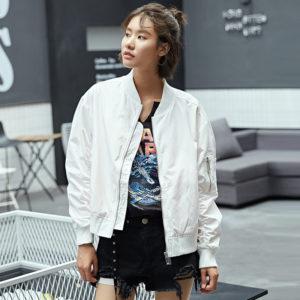 White Bomberjacket Taehyung – BTS