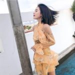 Yellow Flower Dress | Kim Mi So