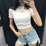 White Short Top | Lisa – Blackpink