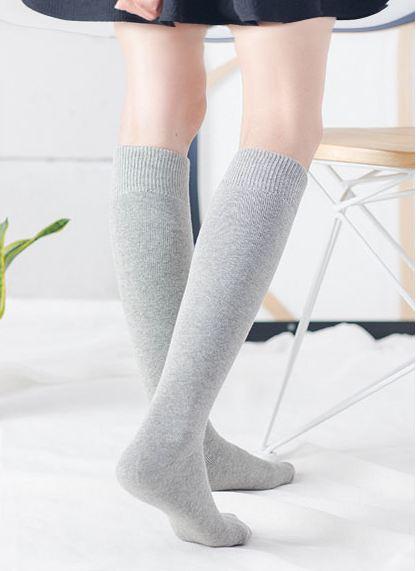 Grey Knee Socks   Hyuna