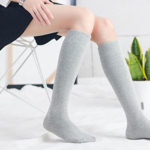 Hyuna Fashion Grey Knee Socks