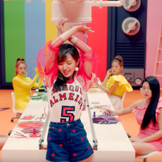 Red Velvet Power Up MV Wendy Outfit