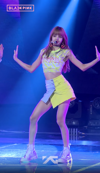 Blackpink Lisa Outfit Idea Inkigayo Live Performance