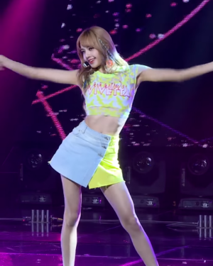Blackpink Lisa Outfit Inkigayo Live Performance
