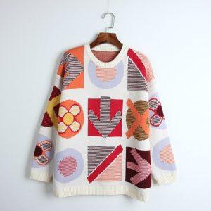 Solo MV Jennie Colored Wool Sweater-min