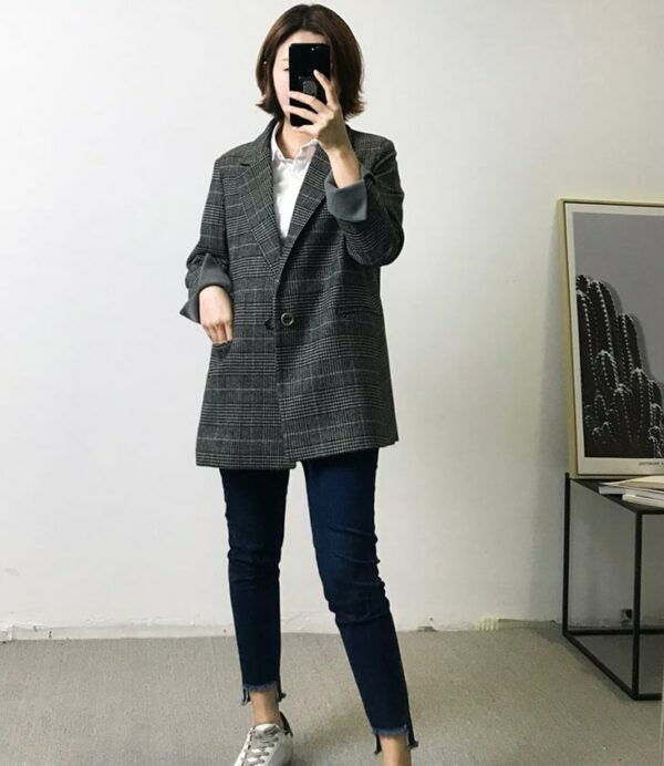 Dark Grey Blazer | Nam Hong Joo – While You Were Sleeping