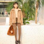 Fluffy Brown Jacket | Lisa – Blackpink