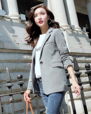 Light Grey Blazer | Nam Hong Joo – While You Were Sleeping