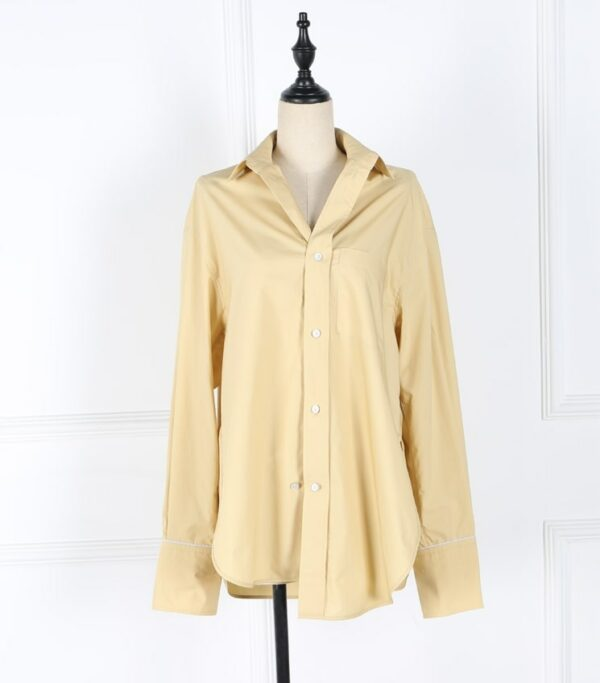 Yellow Plain Blouse | Nam Hong Joo – While You Were Sleeping