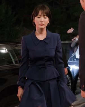 Blue Suit Skirt | Cha Soo-Hyun – Encounter