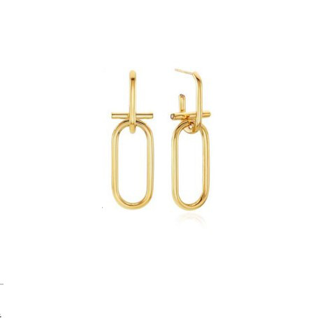 Gold Chain Earrings   Cha Soo-Hyun – Encounter
