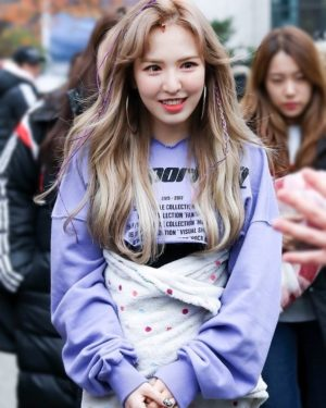 Purple Crop Top | Wendy – Red Velvet