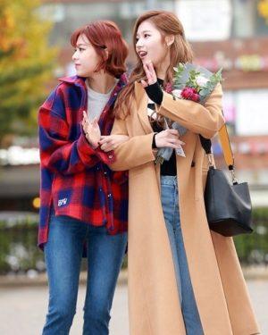Red Blue Flannel Shirt | Jeongyeon – Twice