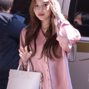 Loose Purple Blouse | Mina – Twice