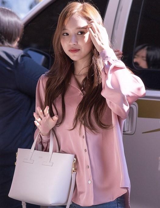 Loose Purple Blouse | Mina – Twice