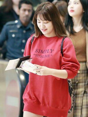 Simply Sublime Sweater | Yeri – Red Velvet