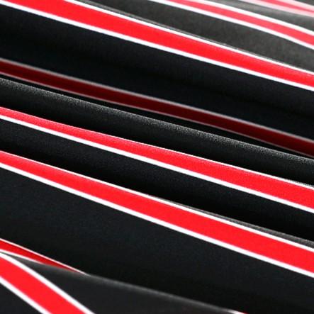 Red Striped Shirt | Lisa – BlackPink