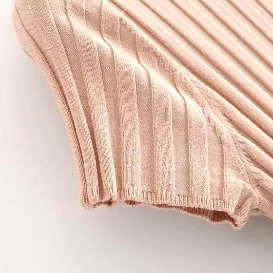 Beige Button Dress | Rose – BlackPink