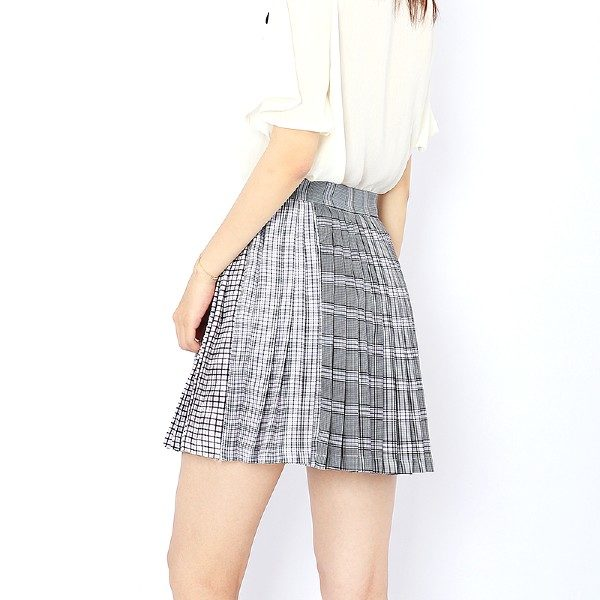 Multi Checkered Skirt | Rose – BlackPink