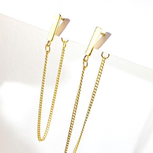 Long Chain Earrings | Cha Soo-Hyun – Encounter