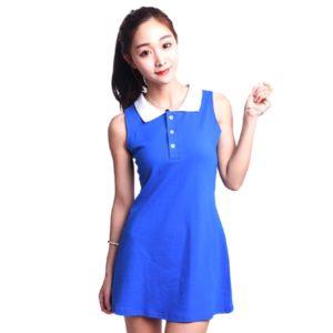 red-velvet-irene-blue-short-dress