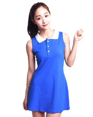 red-velvet-irene-blue-short-dress