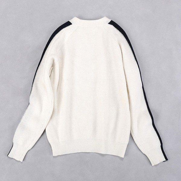 Red White Pullover | Seulgi – Red Velvet