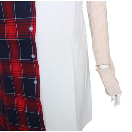 Red Checkered White Dress | Nayeon – Twice