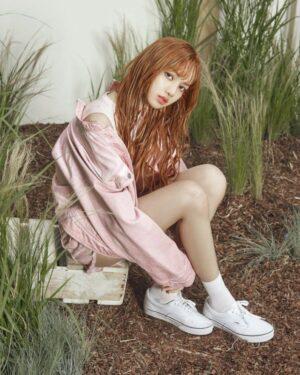 Pink Jeans Jacket | Lisa – BlackPink