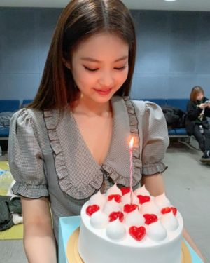 Birthday Plaid Dress | Jennie – BlackPink