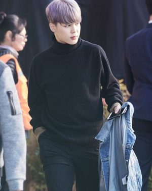 Black Turtleneck Sweater | Jimin – BTS