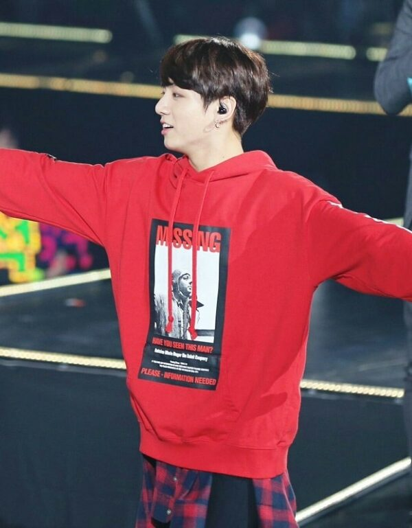 'Missing Have You Seen This Man' Sweater   Jungkook – BTS