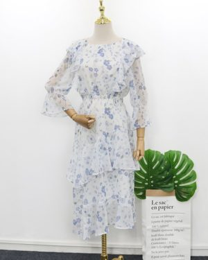 Memories Of The Alhambra White Blue Dress (12)