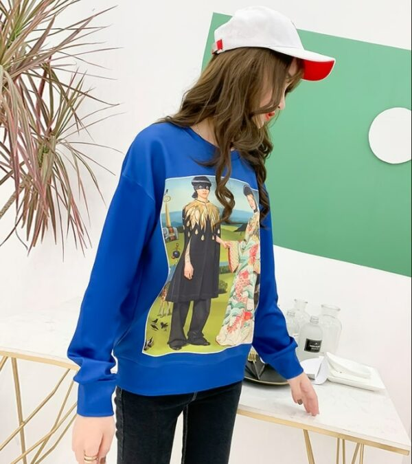 Taehyung Blue Sweater   BTS