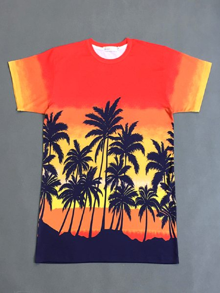 Summer Palm T-Shirt | Suga – BTS