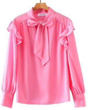 my-id-is-gangnam-beauty-kang-mirae-pink-elegant-blouse