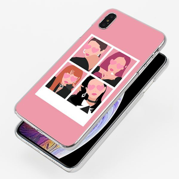 IPhone Case – BlackPink With Heart Eyes