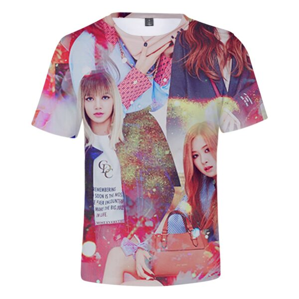 3D BlackPink T-Shirt – Rose & Lisa