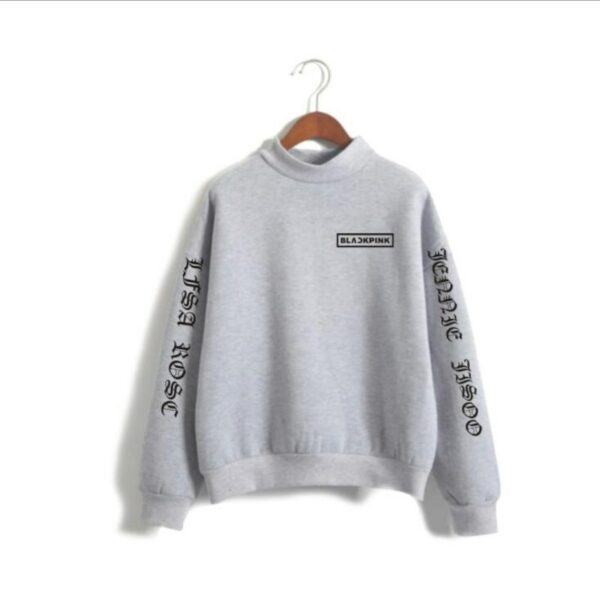 BlackPink Sweater With Members On Sleeve