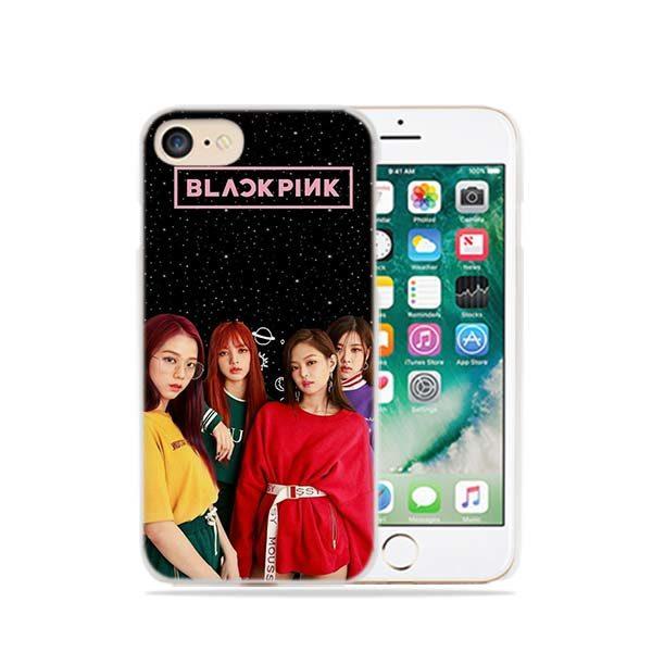 IPhone Case – BlackPink Together With Black Background